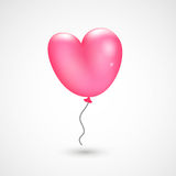 Valentine`s balloon Royalty Free Stock Photos