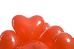 Valentine's balloons Stock Photography