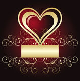Valentine S Banner Stock Photography