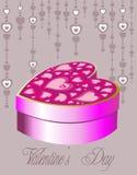 Valentine's box Stock Photos
