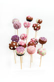 Valentine's cake pops Royalty Free Stock Photography