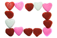Valentine's candy. Royalty Free Stock Image