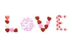 Valentine's Candy. Royalty Free Stock Images