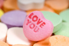 Valentine's Candy Stock Images