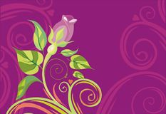 Valentine's card. Vector drawing of the valentine's card Stock Images