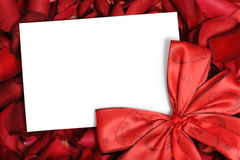 Valentine's card Stock Photo