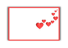 Valentine´s card Royalty Free Stock Images