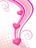Valentine`s card Royalty Free Stock Photography