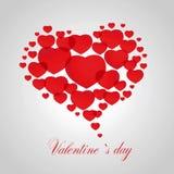 Valentine`s card Stock Image