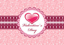 Valentine`s card. Stock Photography