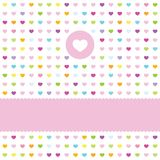Valentine's card Stock Images