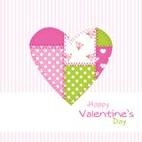 Valentine's card Royalty Free Stock Photo