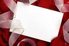 Valentine's Card Royalty Free Stock Photo
