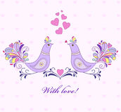Valentine`s card Stock Photo