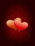 Valentine's card stock photography