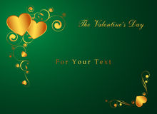 The Valentine's card Royalty Free Stock Image