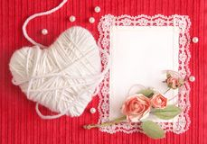 Valentine S Card Royalty Free Stock Photography