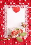 Valentine S Card Royalty Free Stock Photo