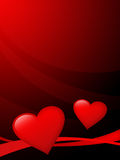 Valentine's Card Ilustration 2 royalty free stock photography