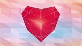 Valentine's card stock footage