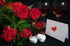 Valentine's Card 2 Stock Photos