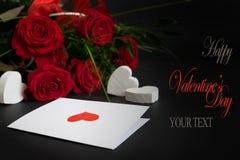Valentine's card 6 Stock Image