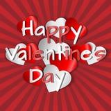 Valentine's card. Royalty Free Stock Photo