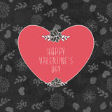 Valentine`s Card Royalty Free Stock Photo