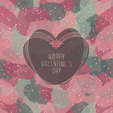 Valentine`s Card Stock Images