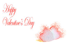 Valentine's Card 1 Royalty Free Stock Image