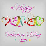 Valentine`s card Royalty Free Stock Image