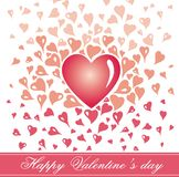 Valentine,s card Royalty Free Stock Images