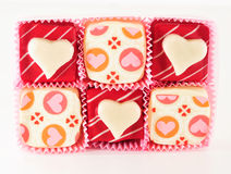 Valentine's Chocolate Stock Images