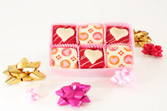 Valentine's Chocolate Royalty Free Stock Image