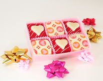 Valentine's Chocolate Royalty Free Stock Images