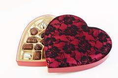 Valentine's chocolate Royalty Free Stock Photo
