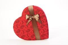Valentine's chocolate Stock Photos