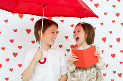 Valentine's concept Royalty Free Stock Images