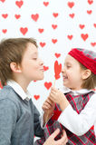 Valentine's concept Royalty Free Stock Photo