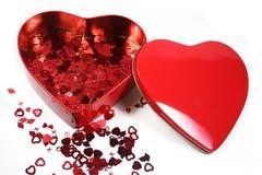 Valentine's confetti Royalty Free Stock Photography