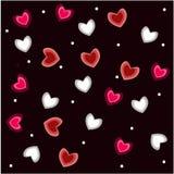 Valentine' s Dagbehang royalty-vrije illustratie