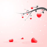 Valentine's Day. Greeting card Stock Images