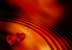 Valentine's day. Two hearts together, Valentine's day Royalty Free Stock Image