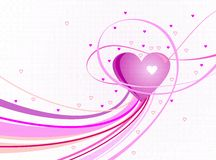Valentine's day. A love background for valentine's day Royalty Free Stock Image
