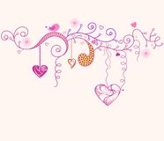 Valentine's day. A love background design for valentine's day Royalty Free Stock Image