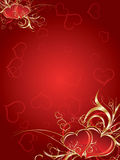 Valentine's Day. Creative Valentine's day artwork Stock Images