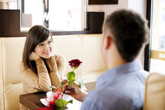 Valentine's Day. You are so beautiful to me Stock Images