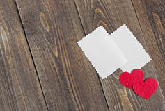 Valentine's Day. Greeting card for Valentine's Day stock image