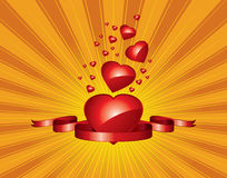 The Valentine's day Royalty Free Stock Image