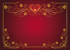 The Valentine's day Royalty Free Stock Photography